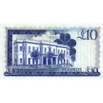 1975 -  Gibraltar PIC 22a     10 Pounds banknote