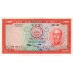 1964 - Guinea Portuguesa pic 43 billete de 1000 Escudos