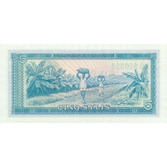 1985- Guinea  pic 22   25 Francs banknote