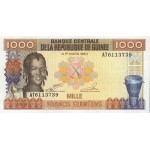 1985- Guinea  pic 32   1000 Francs banknote