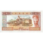 1985 -  Guinea pic 32 billete de 1000 Francos