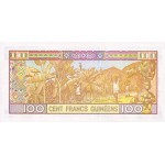 1998 -  Guinea pic 35 billete de 100 Francos
