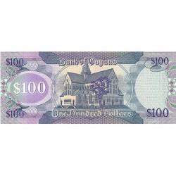 2006 - Guyana P36 100 Dollars banknote