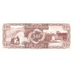 1992 - Guyana P23f billete de 10 Dólares f.9