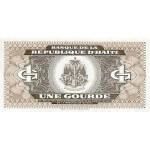 1992 - Haiti P259 1 Gourde banknote