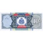 2000 - Haiti P265a 10 Gourdes banknote
