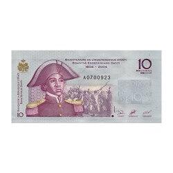 2004 - Haiti P272a 10 Gourdes banknote