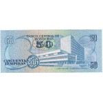 1991 - Honduras P66c billete de 50 Lempiras