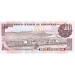 1989 - Honduras P70 billete de 10 Lempiras