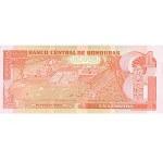 2000 - Honduras P84a billete de 1 Lempira