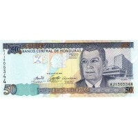 2006 - Honduras P88c 50 Lempiras banknote
