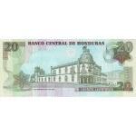 2006 - Honduras P93a billete de 20 Lempiras
