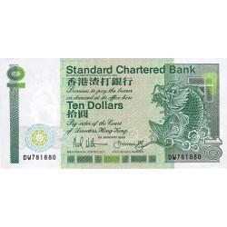 1989 - Hong Kong  Pic 278b   10 Dollars banknote