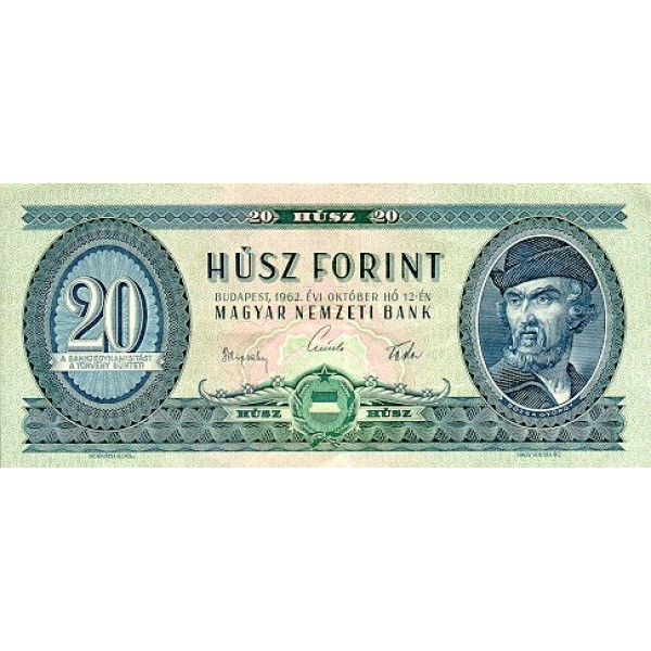 1975 - Hungria PIC 168e    10 Forint   banknote