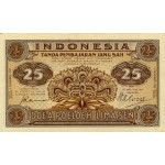 1947 - Indonesia pic 32 billete de 25 Sen