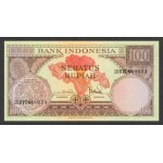 1959 - Indonesia PIC  69    100 Rupees banknote