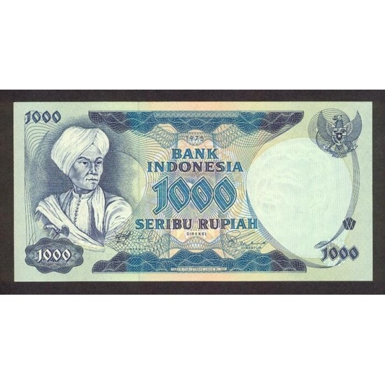 1975 - Indonesia PIC  113a    1000 Rupees banknote