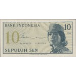 1964 - Indonesia PIC  92     10 Sen  banknote