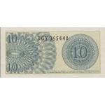 1964 - Indonesia pic 92 billete de 10 Sen