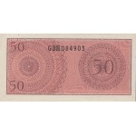 1964 - Indonesia pic 94 billete de 50 Sen