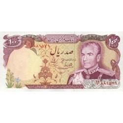 1974 - Iran PIC 102c    100 Rials banknote