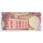 1974 - Iran pic 102c billete de 100 Rials
