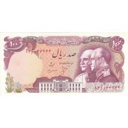 1976 - Iran PIC 108    100 Rials banknote