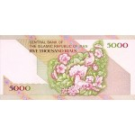 1993 - Iran PIC 145b    5000 Rials banknote