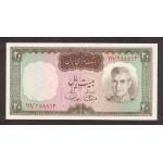 1969/71 - Iran pic 84 billete de 20 Rials