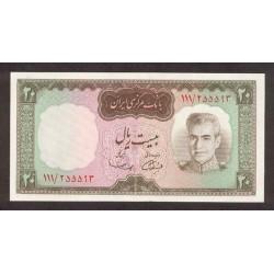 1969/71 - Iran PIC 84      20 Rials banknote