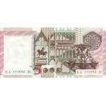 1979 - Italy PIC 105a   5.000 Liras VF  banknote