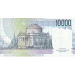 1984 - Italy PIC 112 b   10.000 Liras  banknote