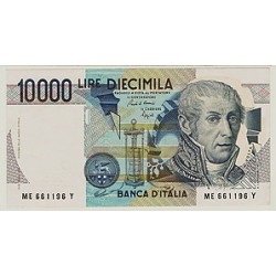 1984 - Italy PIC 112a   10.000 Liras  banknote