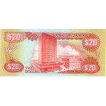 1991 - Jamaica P72d billete de 20 Dólares