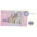 1993 -  Kazajistán  pic 13a  billete de 100 Tenge