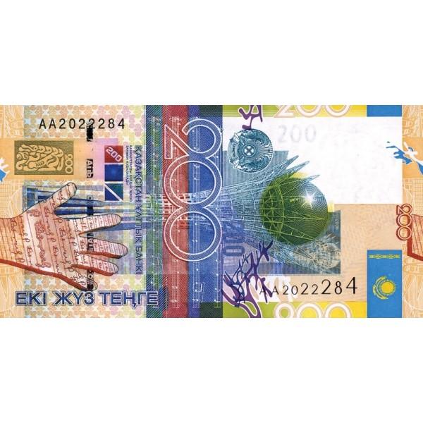2006 -  Kazajistán  pic 28  billete de 200 Tenge