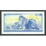 1978-  Kenia pic 17  billete de   20 Shillings