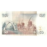 1998-  Kenia pic 36c billete de   50 Shillings
