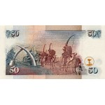 1999-  Kenia pic 36d  billete de   50 Shillings