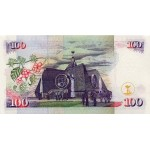1996-  Kenia pic 37a  billete de   100 Shillings