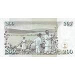 2006-  Kenia pic 48b  billete de   100 Shillings