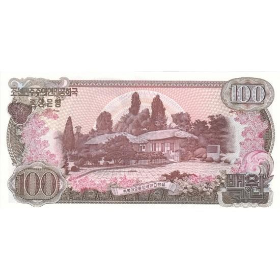 1978 - North_Korea  PIC 22a    100 Won  banknote