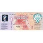 1993 - Kwait PIC CS1     1 Dinar banknote   2º  Anniversary Liberation of Kuwait