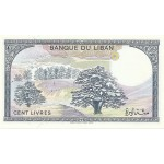 1988 -  Líbano pic 66d  billete 100 Libras