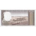 1963 - Laos PIC 14b    1000 Kip banknote