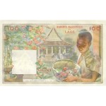 1957 - Laos pic 6 billete de 100 Kip
