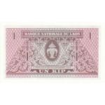1962 - Laos pic 8a billete de 1 Kip