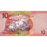 2010 - Lesotho  pic 21a  billete de 10 Maloti