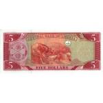 2003 - Liberia pic 26a billete de 5 Dólares