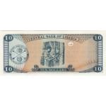 2009 - Liberia pic 27e billete de 10 Dólares